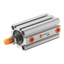 Compact cylinder Ø32 x 40 mm, double acting with magnet ISO 21287