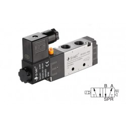 G3/8 valve with electric control 5/2, 27 mm 220 V