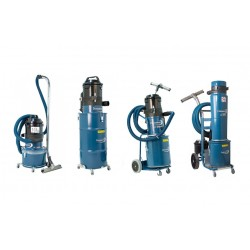 Single-phase dust extractors