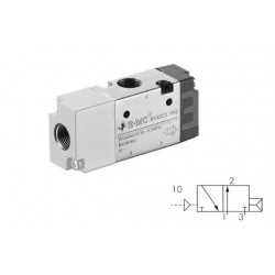 G1/4 valve with pneumatic control 3/2