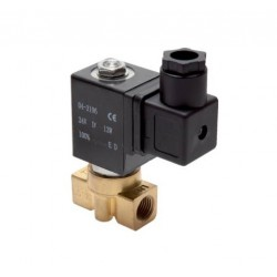 2/2-way brass solenoid valve G1/8 N.C. 220V (0-13bar)
